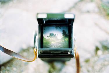 Thinking inside the box - Silhouette by vojzlislav