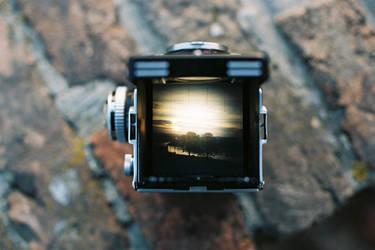 Thinking Inside the Box - Sunset by vojzlislav
