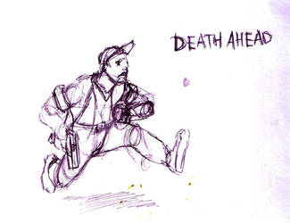 Death ahead by quadrante