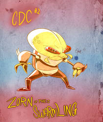 June CDC Day 2: Zorn the Swarmling by Aluterrian