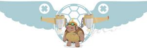 Commander Twinky by rebel-penguin