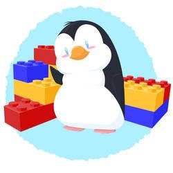 pint-sized penguin by rebel-penguin
