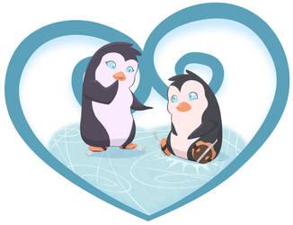 Penguins for a Mermaid by rebel-penguin