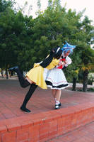 Rei and Kai: Don't leave meeee *o* by SweetCandyCupkake