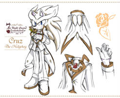 Cruz The Hedgehog [new costume design] by 1412Shadow