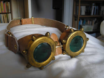 Steampunk Goggles by Tal27