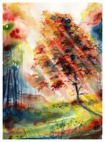 Enlighten by SALTWatercolors