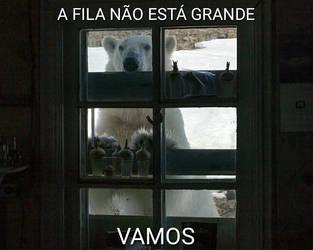 Mem Urso na janela 2 by CachorroSenhorTorrao