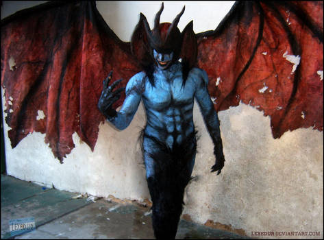 Cosplay Devilman by Lexedur