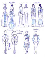 Victorian and Medieval Fashion Fusion by Cyber-Ella