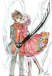 Shu et Inori by MidnightlityDreams