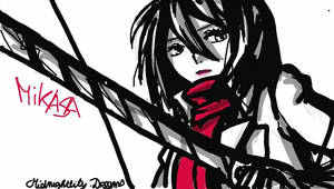 Mikasa by MidnightlityDreams
