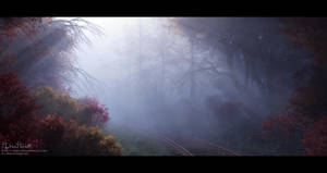 Lonely Railroad by 00AngelicDevil00