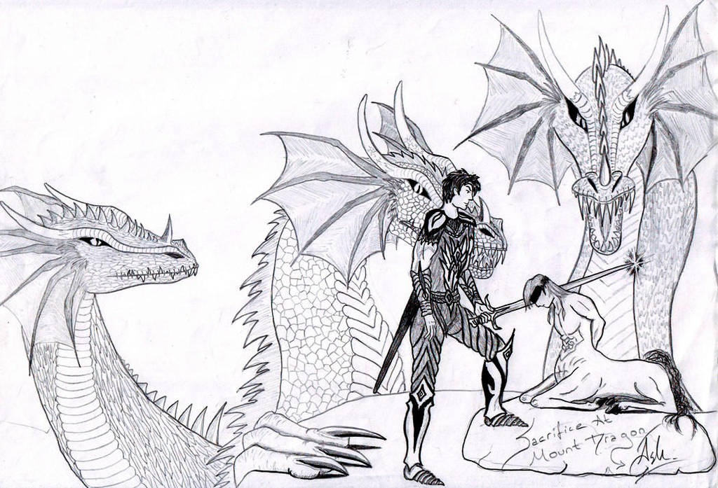Mount Dragon 2 by TILSIMcaglayan