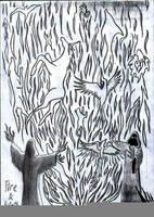 Fire spirit by TILSIMcaglayan