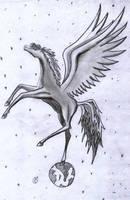 Pegasus by TILSIMcaglayan