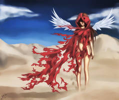 Desert [Creepy] Rose by Zanktus