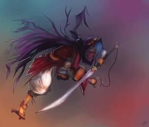 Nephilim Assassin by Zanktus