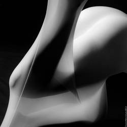 Abstract nude by PokerMenteur