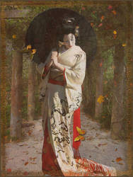 Autumn Geisha by Poetrymann