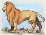 Lion  by Shesvii