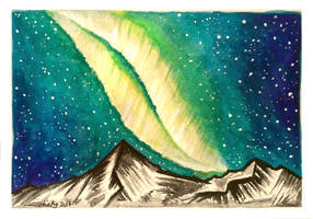 Northern lights by Shesvii