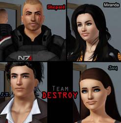 Team DESTROY by Frigidchick