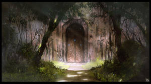 The Hidden Door by RogierB