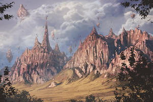 Magical mountains by RogierB