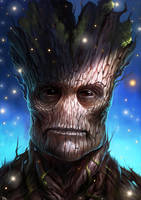 Groot - Guardians of the Galaxy by RogierB