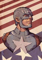 Captain America by RogierB