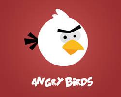 angry birds minimalistic by danielskrzypon