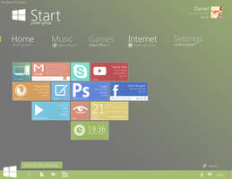 Windows 8 Concept #1 by danielskrzypon