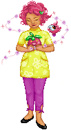 Aster the Aroma Lady- TPP Round 1 by lilbuttons