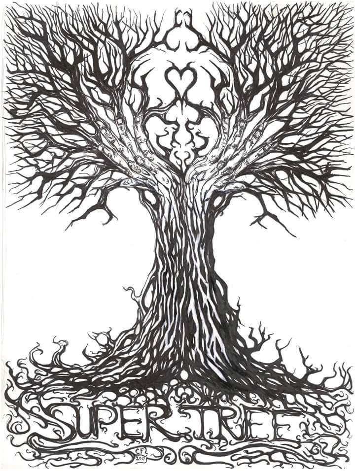 Super tree band t shirt design...v by Chuckfarmer