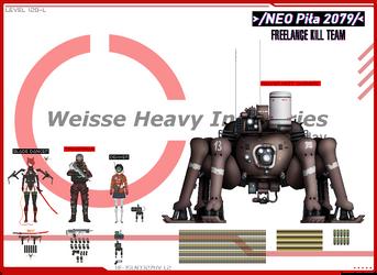 /NEO Pila 2079/ - Freelance Kill Team by B0iledEgg
