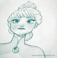 Queen Elsa by xXSamyahXx