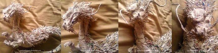 Paper Dragon by LindseyWArt