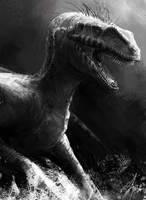 Velociraptor by LindseyWArt