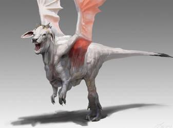 Cow Dragon by LindseyWArt