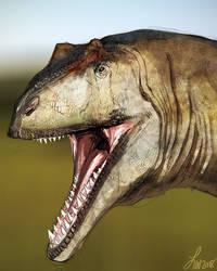 Dinovember: Allosaurus by LindseyWArt