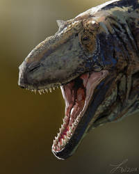 Dinovember: Daspletosaurus by LindseyWArt