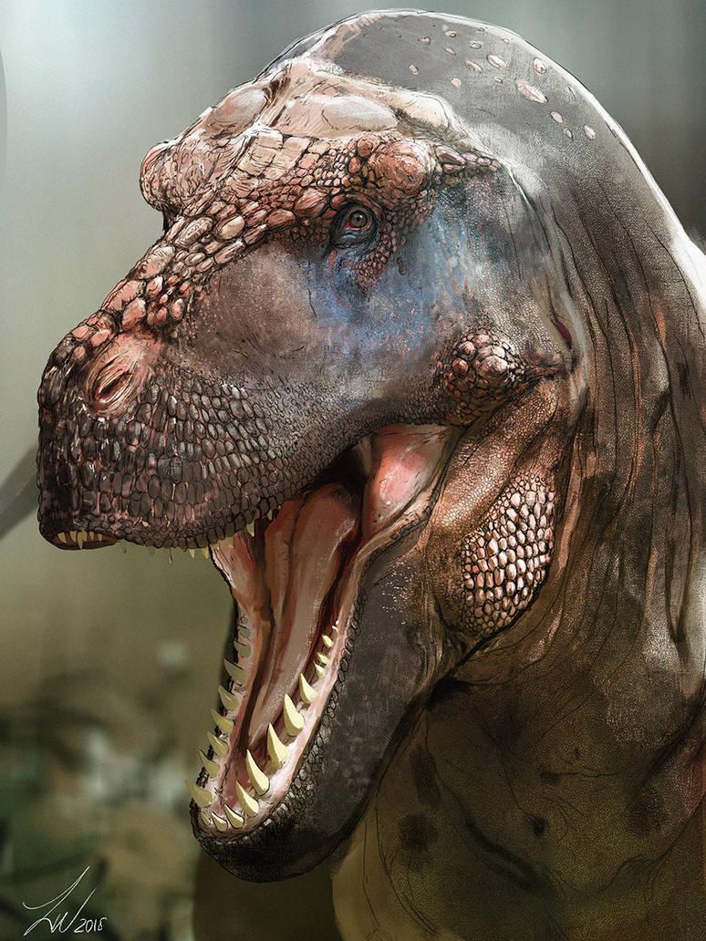 Dinovember: Tyrannosaurus Rex by LindseyWArt