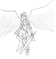 Kareia 'The Fallen Angel' by Deonos