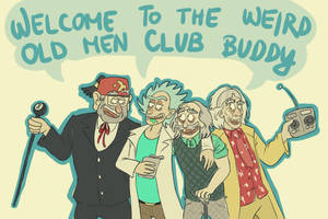 Weird Old Men Club by RatTheRipper