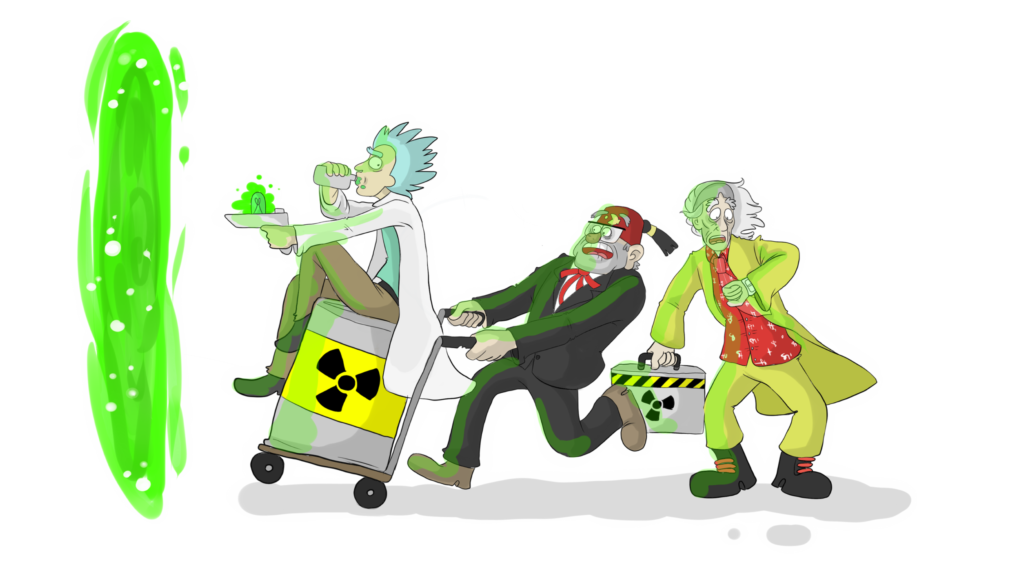 Just take the plutonium and get out of here !!! by RatTheRipper