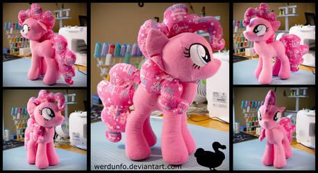 Flannel Pinkie Pie by weRDunfo