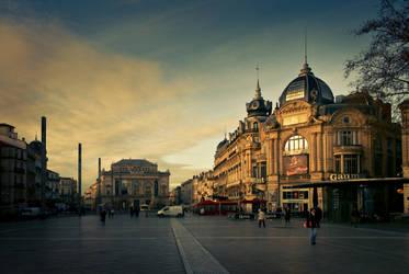 Montpellier by qbfx
