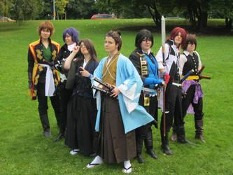 We are Shinsengumi- Hakuouki by moonclaim