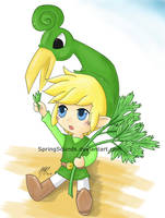 Minish Cap Link by SpringSounds
